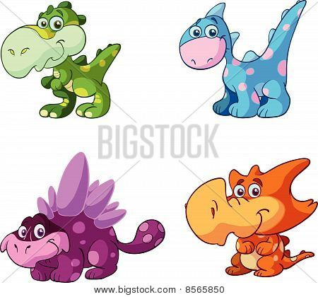 Baby dino collection