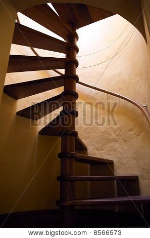 Basement staircase