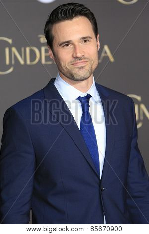 LOS ANGELES - MAR 1: Brett Dalton at the World Premiere of 'Cinderella' at the El Capitan Theater on March 1, 2015 in Hollywood, Los Angeles, California
