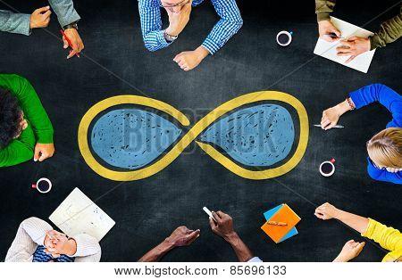 Infinity Eternity Endless Loop Cycle Concept