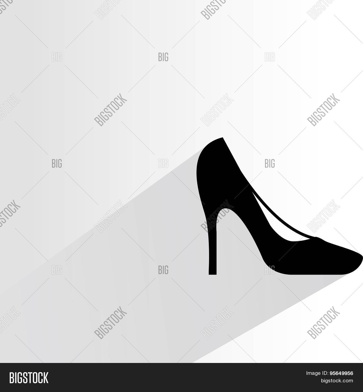 38e03b2df1db High Heel Shoe Vector   Photo (Free Trial)