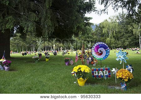 Memorial Day Grave side