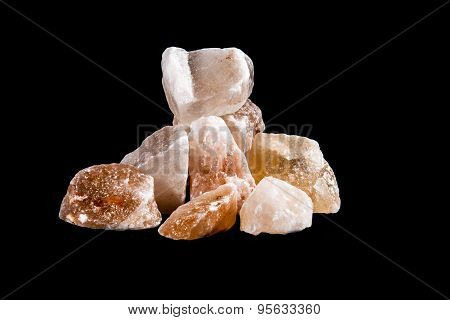 crystals salt