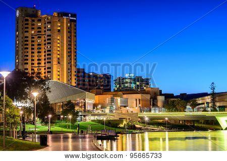Adelaide City At Night