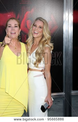 LOS ANGELES - JUL 7:  Cassidy Gifford, Kathie Lee Gifford at the