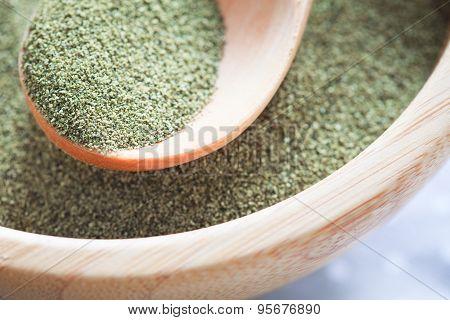 Kelp (algae) Green Powder Healtly Superfood