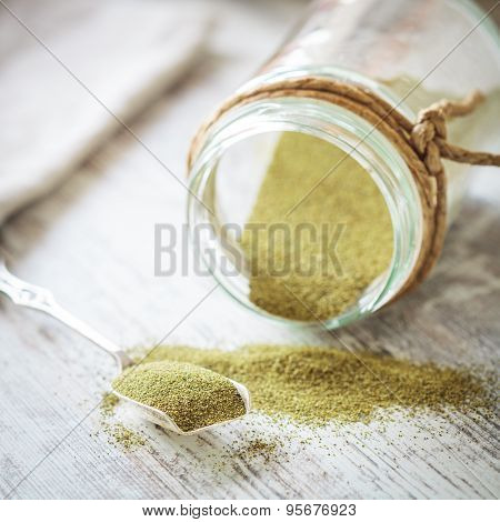Kelp (algae) Green Powder Healtly Superfood