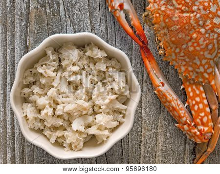 Rustic Chunky Cooked Crab Meat