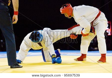 Tursunov S. (red) And Sagyn K. (blue) Fight