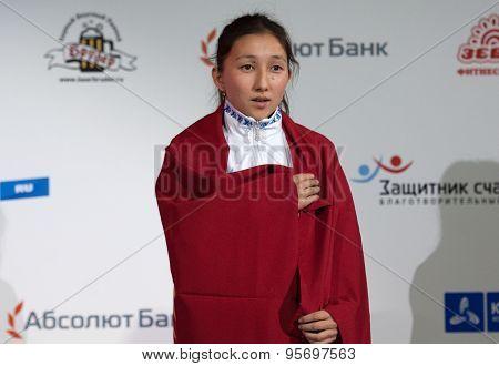 Albina Mambetova, Gold Medalist