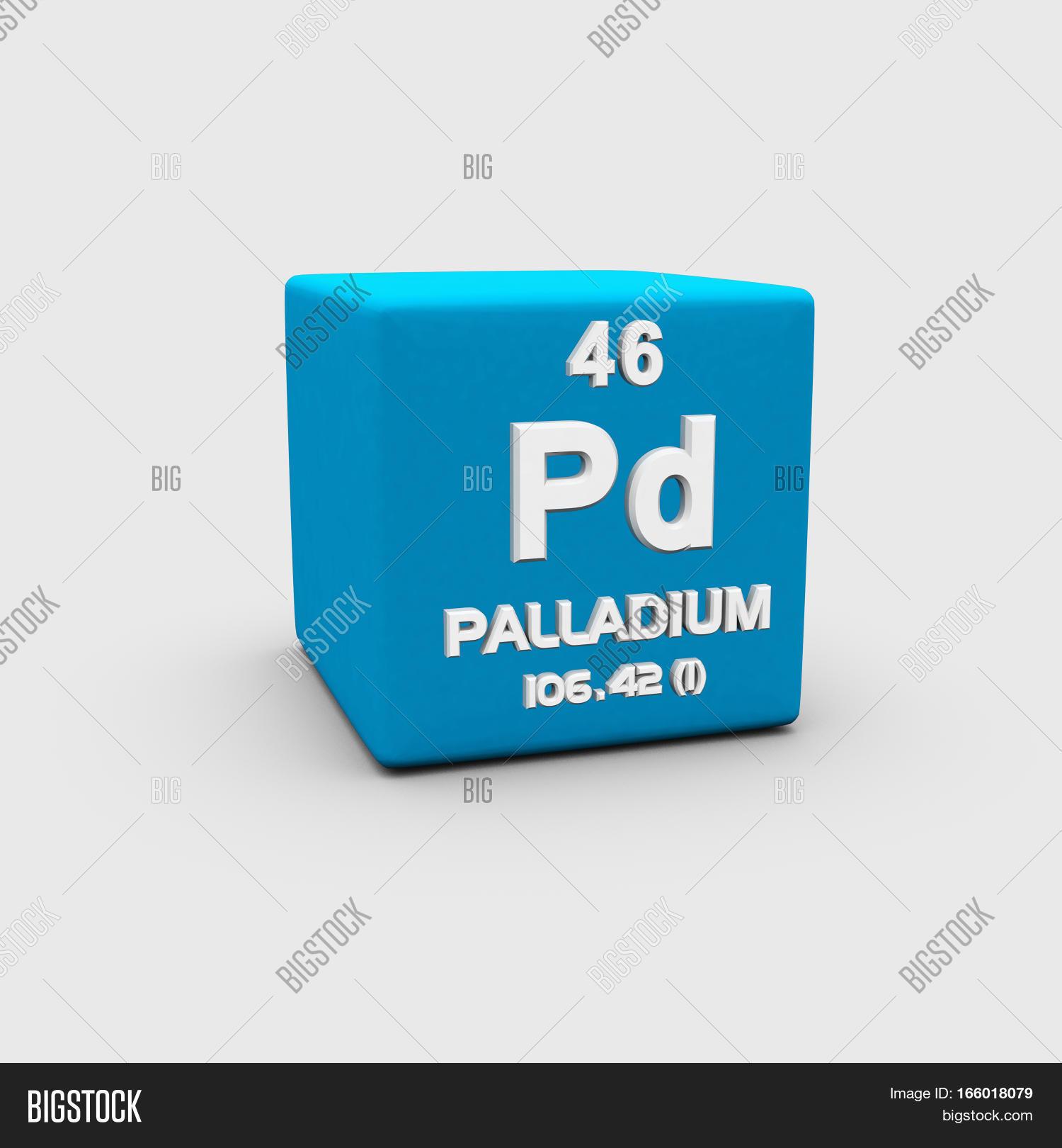 Palladium Chemical Image Photo Free Trial Bigstock