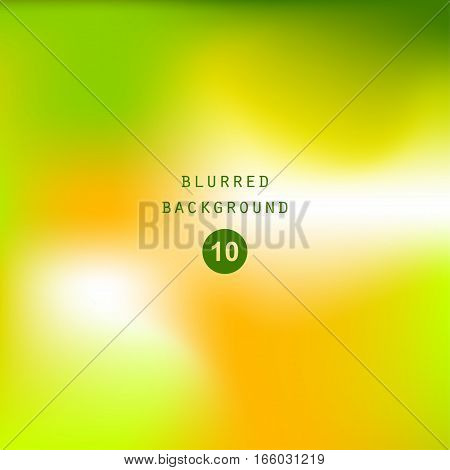 Bright colorful modern smooth juicy green yellow gradient color abstract background   Vector illustration blurred color blur gradient business graphic image soft ethereal backdrop template
