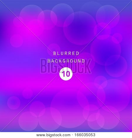 Bright colorful modern smooth juicy blue purple gradient color abstract background . Vector illustration blurred color blur gradient business graphic image soft ethereal backdrop template