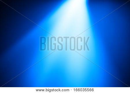 Diagonal blue light leak bokeh background hd