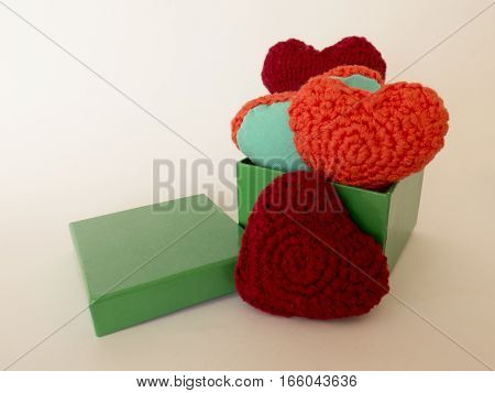 Handmade Gift For Valentine's Day In A Box