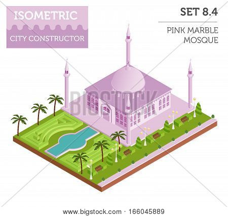 Isometric City Map Elements_35