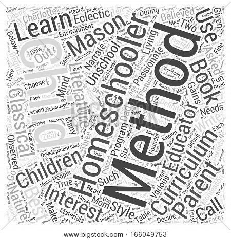 homeschooling methods dlvy nicheblowercom Word Cloud Concept