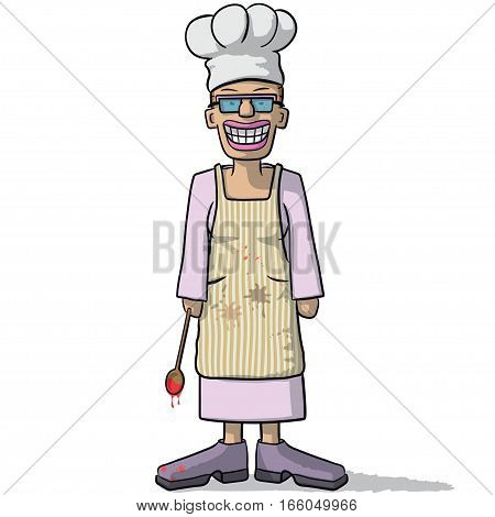 Smiling Woman Cook