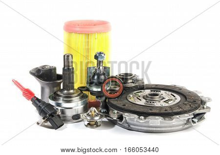 spare air filter ball bearing clutch disc set the speed sensor and the caul, Hob and constant velocity joints