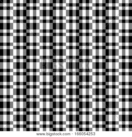 Geometric Seamless Pattern, Abstract Background. Checkered Design, Black And White Squares, Optical