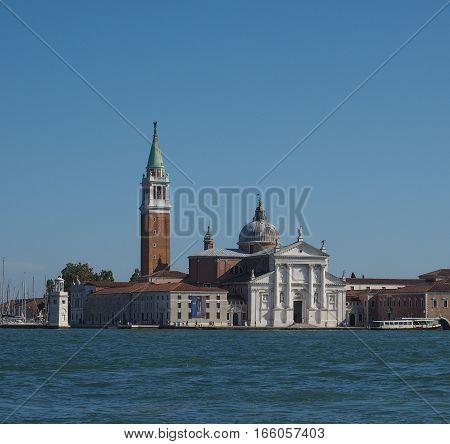San Giorgio Island In Venice