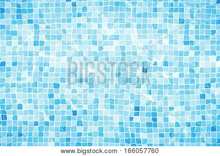Swimming Pool Bottom Caustics Ripple And Flow