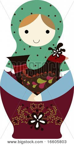 cute russian doll