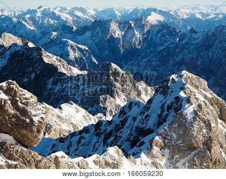 View From Zugspitze