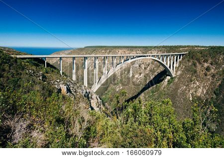 Bloukrans Bridge, Bloukrans, Eastern Cape Province, South Africa..
