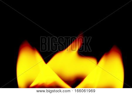 Realistic Fire Flames Burn