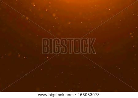 Gold Dust Particles Flowing Background Loop Seamless Ready, Golden Light Spot