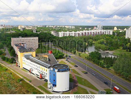 Minsk Belarus architectural complex