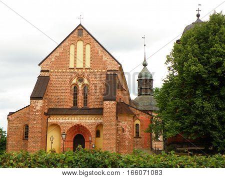 Skokloster kyrka, a beautiful church in the area of Skokloster Castle, Sweden