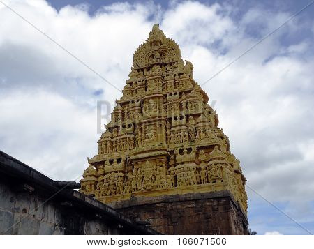 Murudeshawar temple a Hindu pilgrimage site located in Karnataka, India