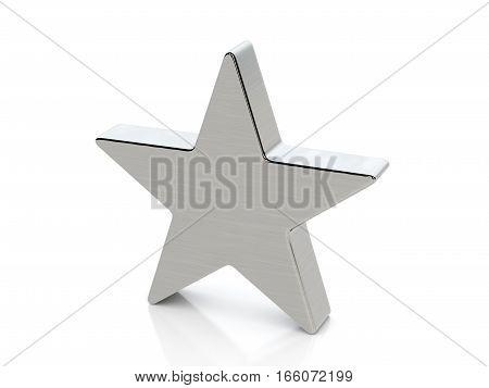 Metallic Star Symbol
