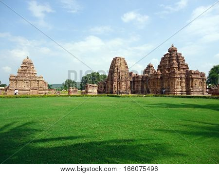 Pattadakal :  A historical monument located in Karnataka state of India