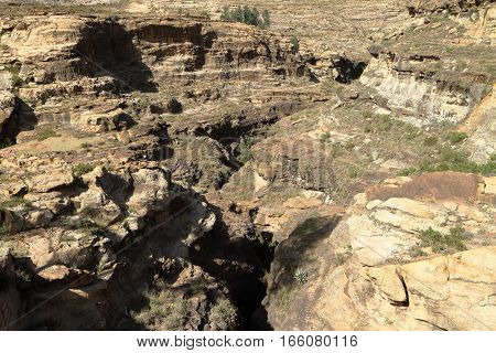 The Landscape of the African Rift Valley in Ethiopia