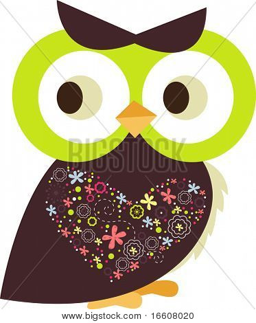 little decorated owl