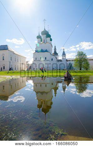 Rostov Kremlin, Yaroslavl Oblast, Russia. Golden Ring Of Russia.