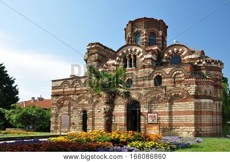 Temple of Christ Pantocrator (the Almighty) in Nessebar. Bulgaria.