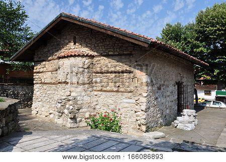 Bulgaria. Old Nessebar. Church of the Holy Savior. 1609.