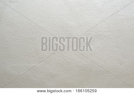 Focused texture of grainy noisy white wall