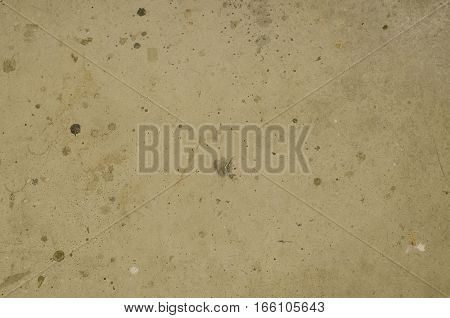 Focused texture of dirty grey floor with dust