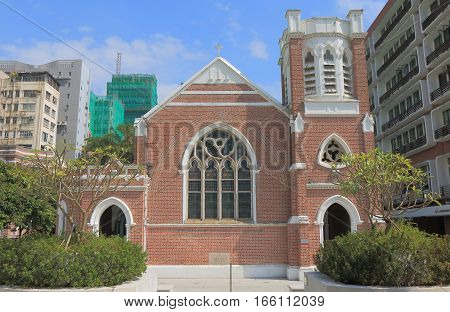 Historical architecture of St Andrews Church Hong Kong
