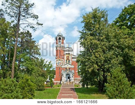 Chapel, the tomb of the princes Svyatopolk-Mirsky, Mir castle complex, Belarus
