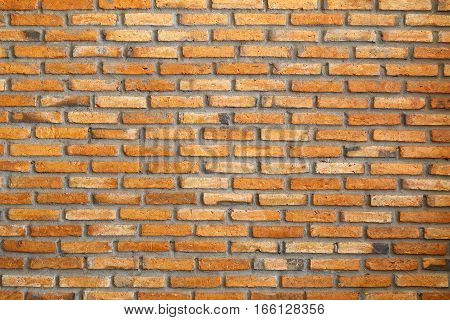 Look for the red brick walls athletic background.
