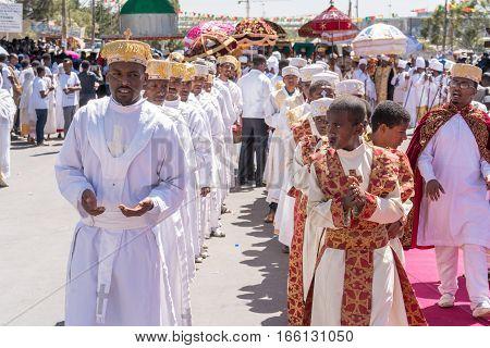 2016 Timket Celebrations In Ethiopia - Medehane Alem Tabot