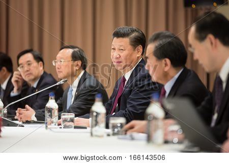 President Of The Peoples Republic Of China Xi Jinping