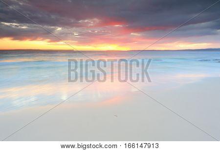 Sunrise Jervis Bay N/sw Australia