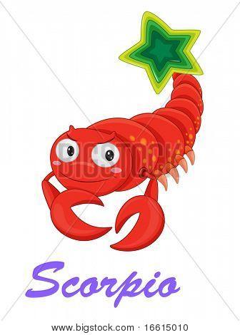 Scorpio star sign from series 1